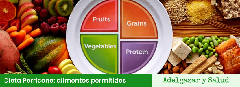 Dieta Perricone alimentos permitidos