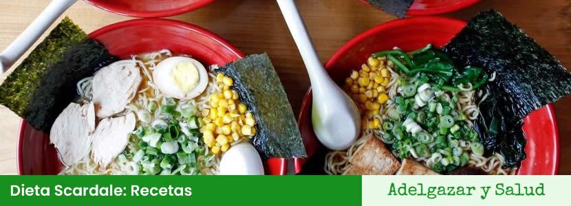 dieta scardale recetas