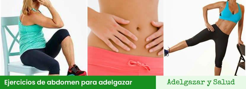 Ejercicios de abdomen para adelgazar