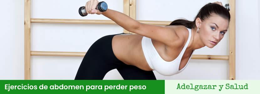 Ejercicios de abdomen para perder peso
