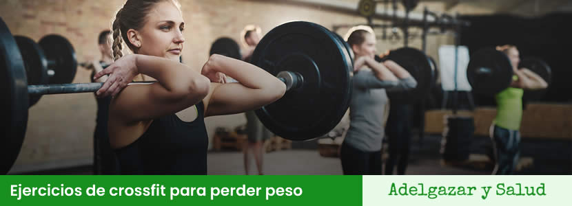 Ejercicios de crossfit para perder peso