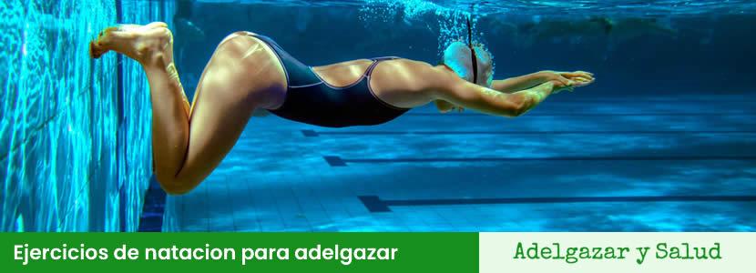 Ejercicios de natacion para adelgazar