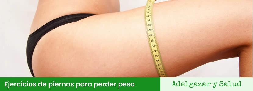 Ejercicios de piernas para perder peso
