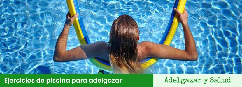 Ejercicios de piscina para adelgazar