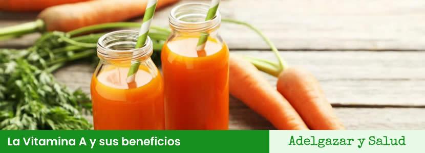 La Vitamina A y sus beneficios