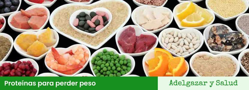 proteinas para perder peso